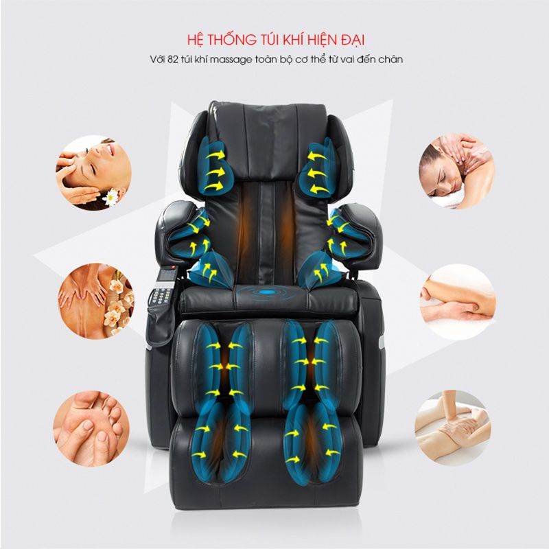 GHẾ MASSAGE 14 ROLLERS ELECTRIC MASSAGE CHAIR